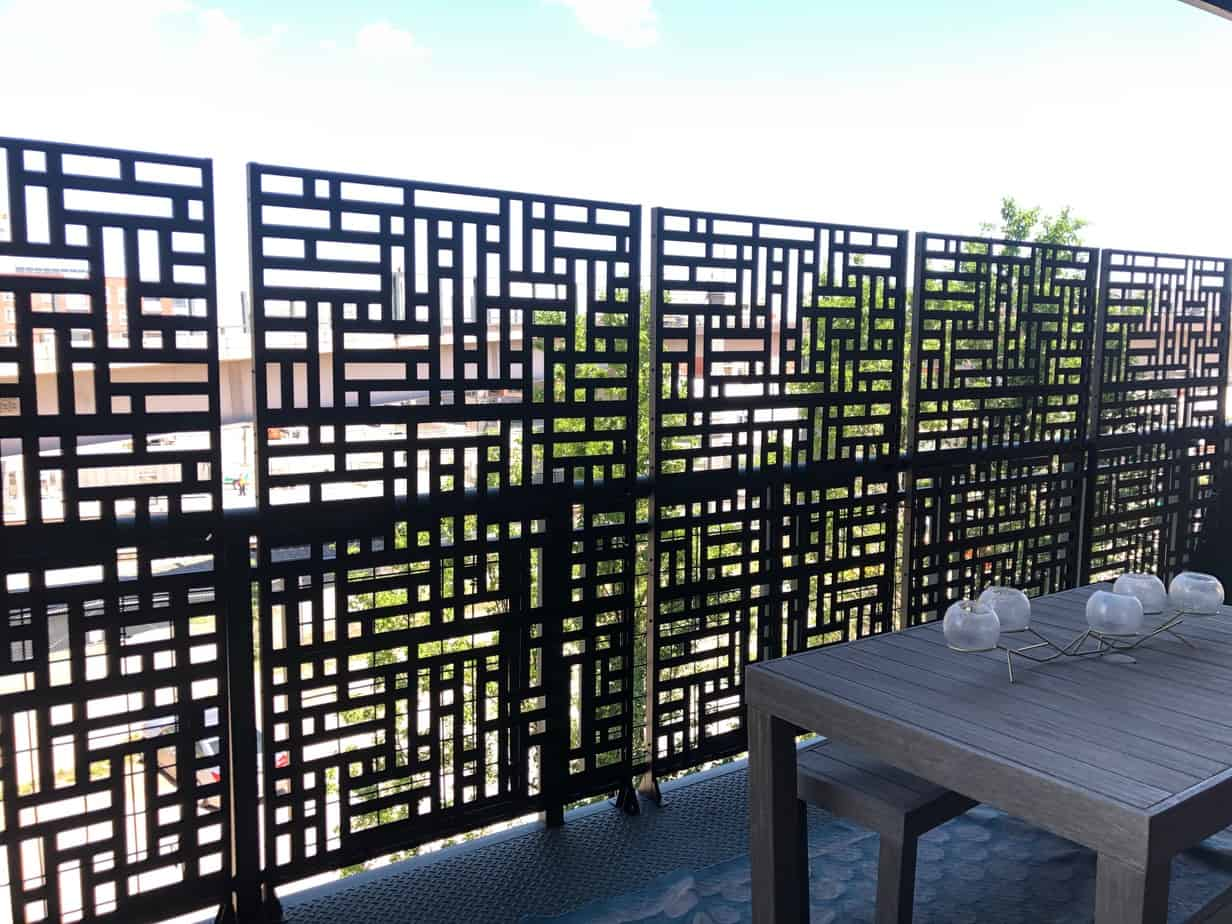 privacy screen to hide ugly view