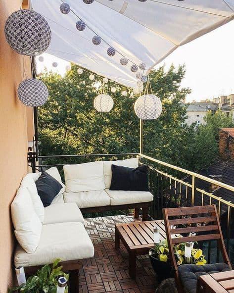 balcony cover ideas