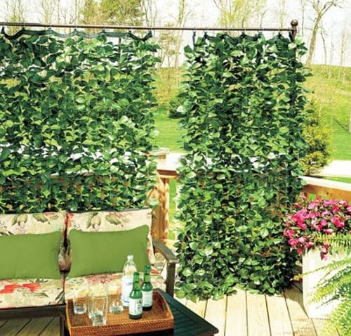 Faux Ivy Curtains