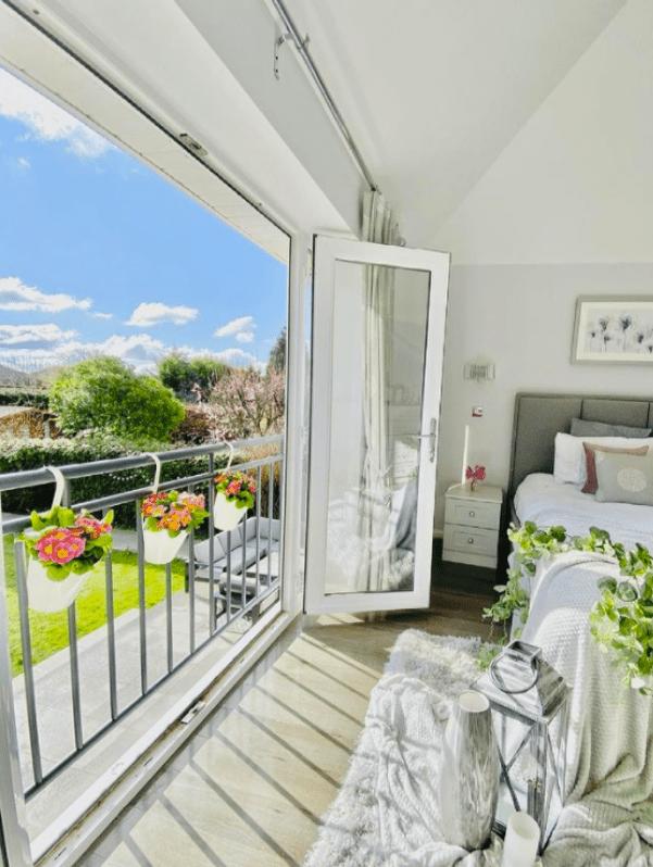 master bedroom juliet balcony