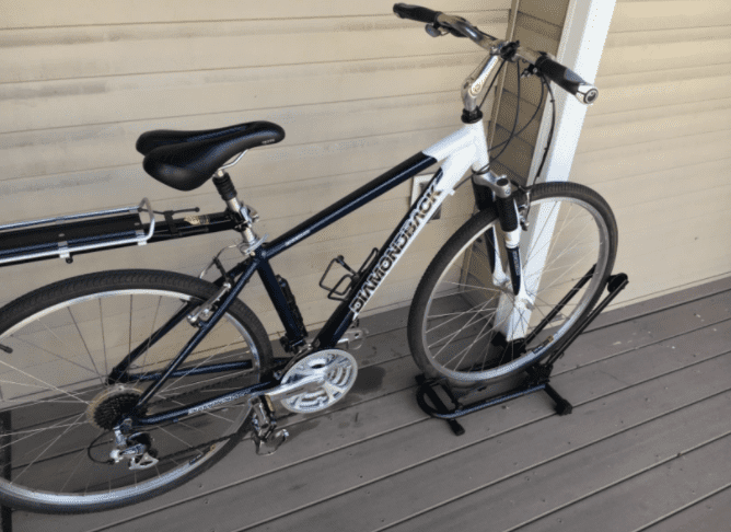 balcony bike parking rack stand