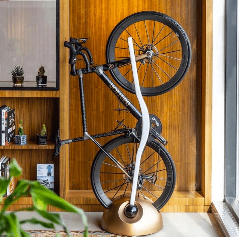 balcony bike storage