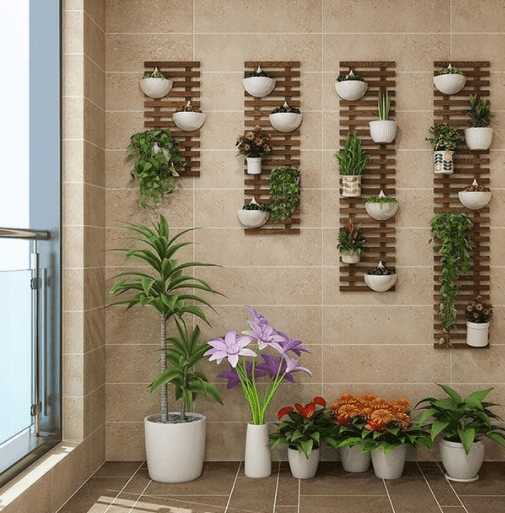 balcony wall planter