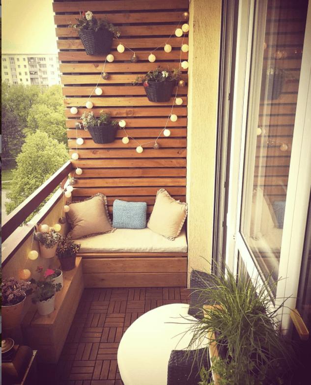 narrow balcony furniture ideas