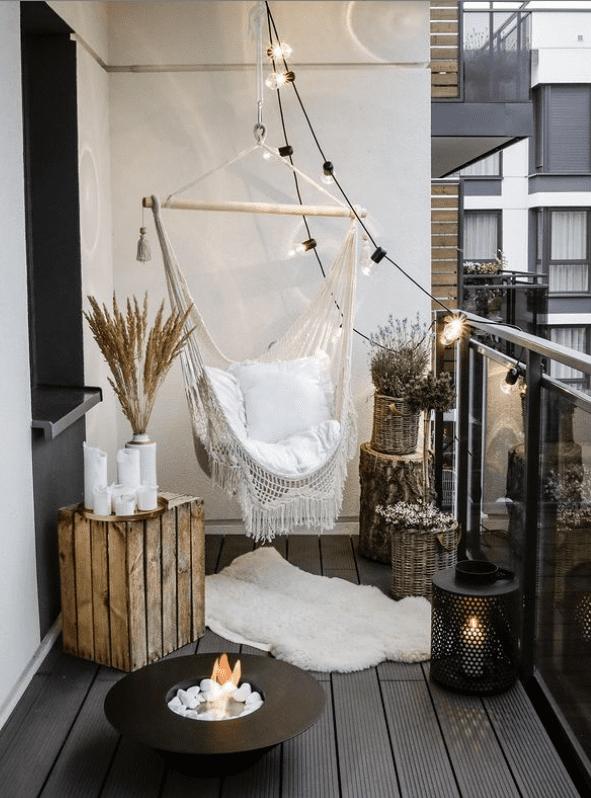 balcony hammock chair