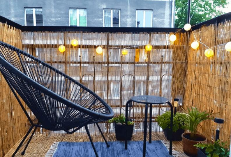 balcony lighting ideas