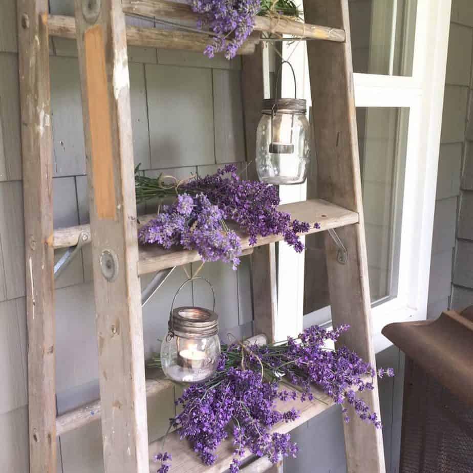 balcony ladder lantern